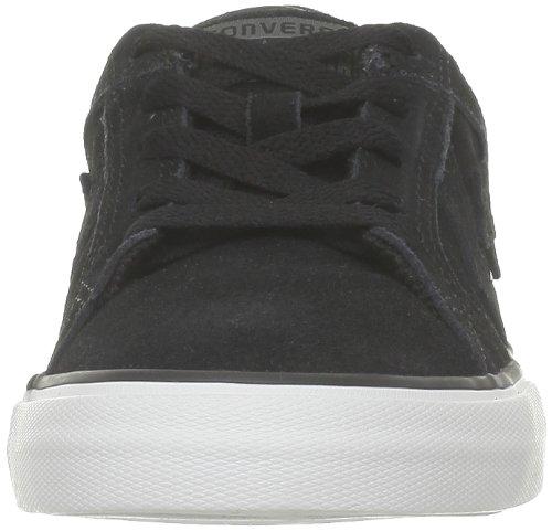 Converse Ledge Star Ox, Baskets mode mixte enfant Noir (Noir/Blanc)
