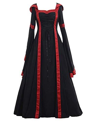 FeelinGirl Halloween Kostüm Wikinger Damen Kostüme als Verkleidung für Fasching Motto (Baby Wikinger Kostüm)