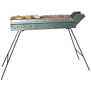 arterameferro – Iron Grill for Barbecue, Ideal for Cooking Skewers – Size: 60 cm