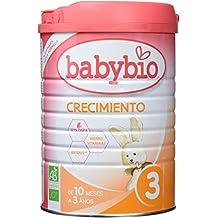 Leche Ecológica de crecimiento (12 meses a 3 años) , BABYBIO ...