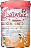 Leche Ecológica de crecimiento (12 meses a 3 años ), BABYBIO (900gr)