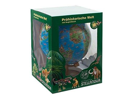 28-cm-dinosaurier-globus-mit-begleitheft-beleuchtet-illustrierter-globus-der-prahistorischen-welt-mi