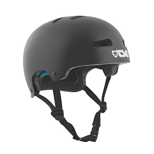 Black Satin (TSG Kinder Helm Evolution Kids Solid Color satin black, XXS/XS)