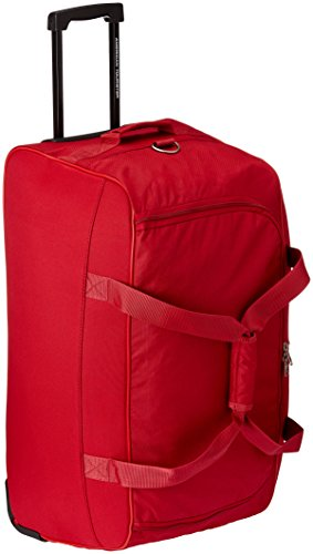 American Tourister Polyester Red Travel Duffle (Y65 (0) 00 367)