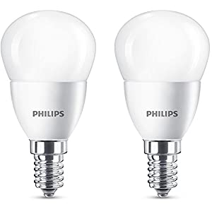Philips LED Lampe ersetzt 40 W, E14, warmweiß (2700K), 470 Lumen, Tropfen, 8718696586648