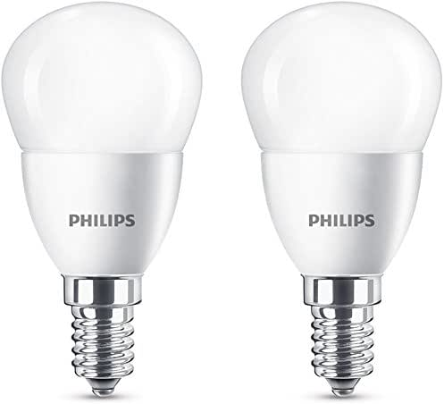 Philips Ampoule LED 40W P45 E14 WW FR ND 2BC/6