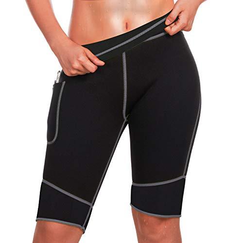 Bingrong Pantalones Adelgazar Mujer Pantalón Sudoración