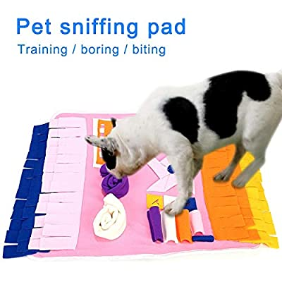 Cutogain Sniffing Pad,Training Blanket,Non-slip Mat,Feeding Mat,Multifunction,Pet Sniffing Pad Nosework Blanket Dog Training Feeding Mat Pet Activity Mat from Cutogain