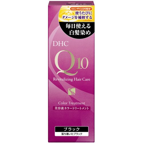 DHC Q10 Revitalizing Hair Care Color Treatment (Black)