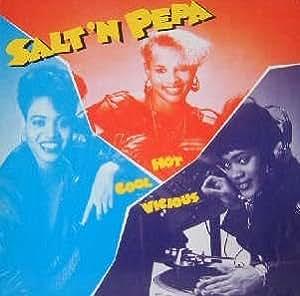 HOT COOL VICIOUS ( LP / Vinyl Schallplatte Disque Record) SALT 'N PEPA