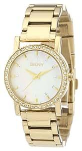 DKNY Damen-Armbanduhr XS Analog Quarz Edelstahl beschichtet NY4792