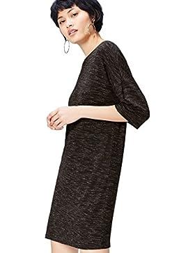 [Sponsorizzato]FIND Vestito T-shirt a Manica Corta Donna
