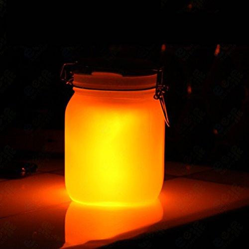 ledmomo Sun Jar Leuchten Solar Mason Jar für Hochzeitsgastgeschenke Garten Terrasse Dekorative Beleuchtung