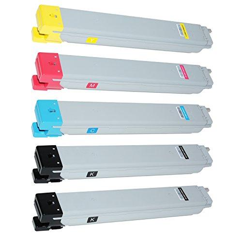Preisvergleich Produktbild 5 Toner für Samsung CLX-9201 NA 9251 NA 9301 NA MultiXpress - CLT-K809S/ELS CLT-C809S/ELS CLT-M809S/ELS CLT-Y809S/ELS - Schwarz 20.000 Seiten, Color je 15.000 Seiten