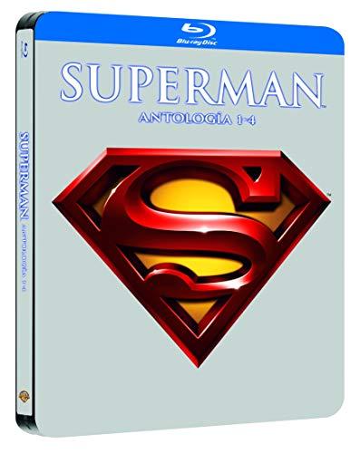 Pack Superman I-Iv Black Metal Edition Blu-Ray [Blu-ray]
