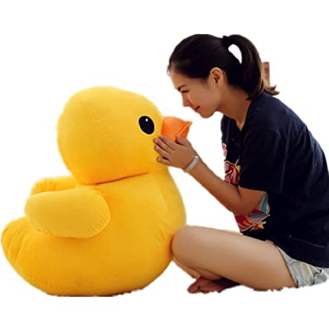 70cm(28) Giant Yellow Duck Stuffed Animal Plush Soft Toys Cute Doll One Piece by Tanya