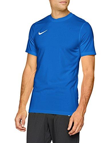 Nike Herren Kurzarm Trikot Park VI, Blau (Royal Blue/White), L