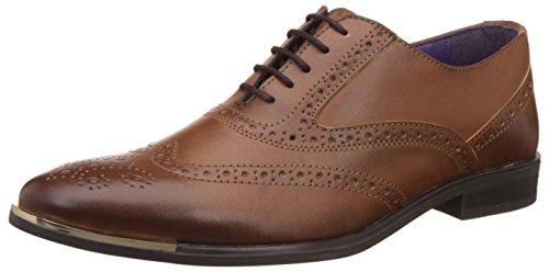 Knotty Derby Men's Vincent Brogue Tan Formal Shoes
