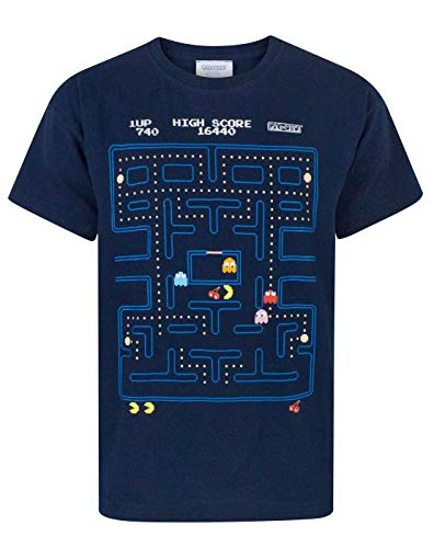 Boy's Pacman Game Screen T-shirt - 5 to 14 yrs