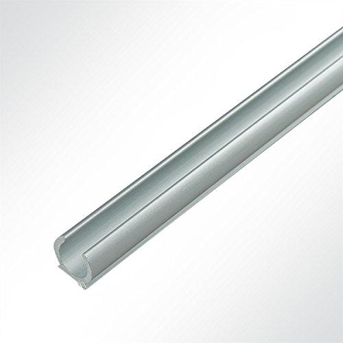 Preisvergleich Produktbild Lysel® Alu Kederschiene Vorzeltkederschiene eloxiert 13x11.72mm 3 Meter