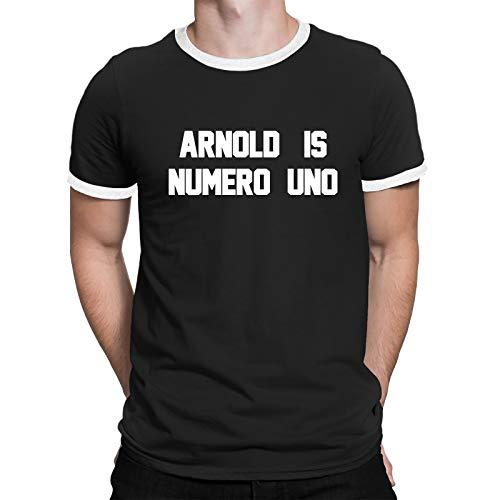 Buzz Shirts - Arnold is Numero UNO - Herren Damen Unisex T-Shirt