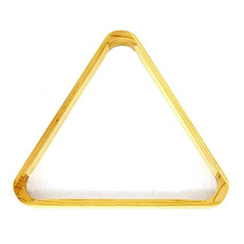 Billard Snooker Dreieck aus Holz Triangel Billardtisch