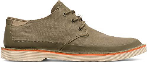 Camper Morrys, Zapatos de Cordones Derby para Hombre, Verde (Medium Green 310),...