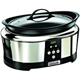 Crock-pot - SCCPBPP605-050 - Mijoteuse Electrique Programmable - Inox 5.7 L