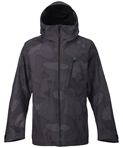 Burton Snow Jackets - Burton Men's AK 2L Cyclic... true black hombre camo