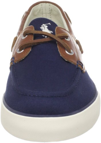 Chaussures Polo Ralph Lauren Rylander Bateau Navy/Tan/Cream