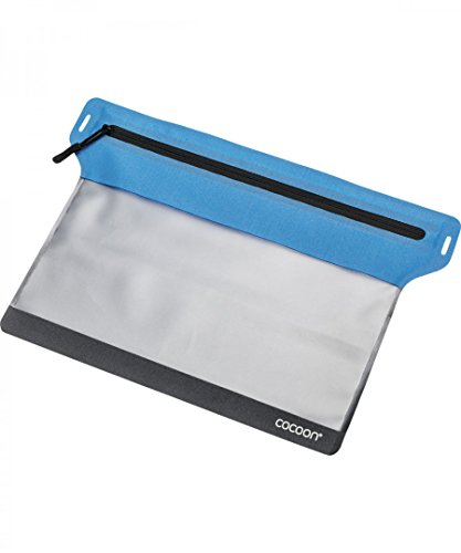 Cocoon Zippered Document Bag -blue - M