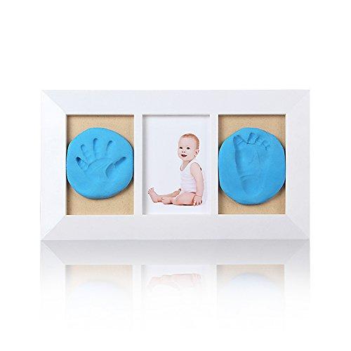 Preisvergleich Produktbild Baby Bilderrahmen Abdruck Baby Handabdruck & Footprint Rahmen, Baby-Dusche Dekorationen, durable-best Baby Dusche Geschenk