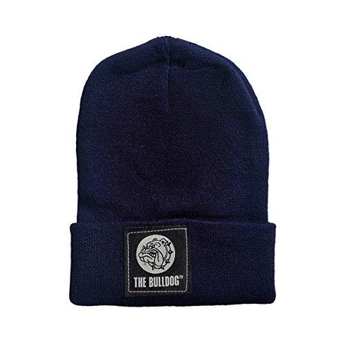 Preisvergleich Produktbild Mütze The Bulldog Wolle Einheitsgröße mit Logo blau Mütze bulcap029