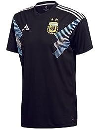 Adidas Argentina Away Replica Jersey T-Shirt 140 Crew Neck Short Sleeve Polyester - Camisas