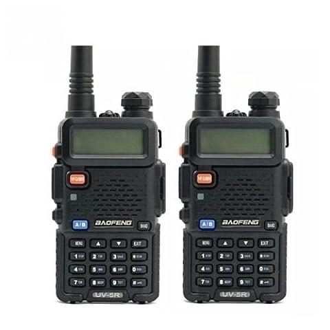 Baofeng UV-5Rx2 Dual-Band Two Way Radio - Black