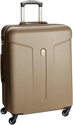 Delsey Leneos Hard 66Cm Beige Check-In Trolley Luggage (00357781017T9)