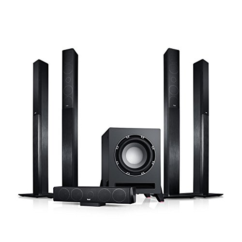 "Teufel LT 4""5.1-Set L Schwarz Heimkino Lautsprecher 5.1 Soundanlage Kino Raumklang Surround Subwoofer Movie High-End HiFi Speaker"