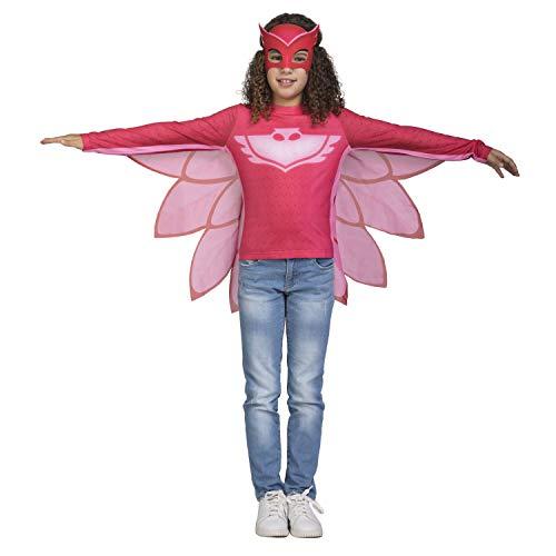 Viving Costumes-Kostüm PJ Masks Owlette Größe 3/4Jahre Shirt, Mehrfarbig (231297)