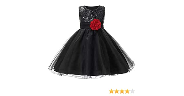 6badcadbf AP Boutique Baby Girl Frocks Birthday Party Wear Dresses Girls Fancy  Designer Black Dress (2-3 Years): Amazon.in: Clothing & Accessories
