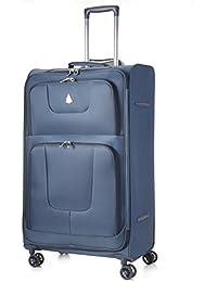 Aerolite 8-Rollen Leichtgewicht Reisekoffer Trolley Gepäck