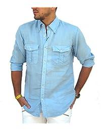reputable site f2d08 6fad2 Amazon.it: 3XL - Camicie casual / Camicie: Abbigliamento