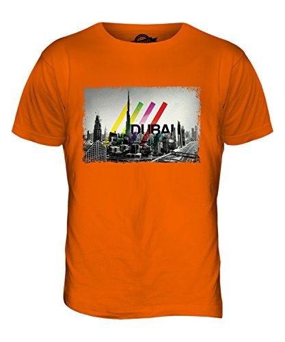 CandyMix Dubai Skyline Herren T Shirt Orange