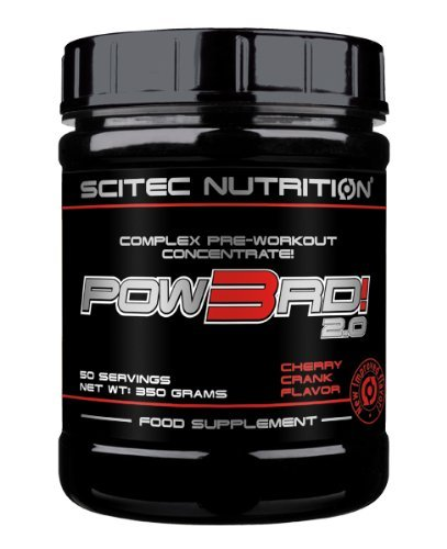 Scitec Nutrition Pow3rd! 2.0 350g Charged Cherry
