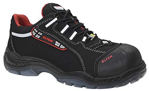 ELTEN Sicherheitsschuhe SENEX Pro ESD S3, Herren, sportlich, leicht, schwarz, Kunststoffkappe