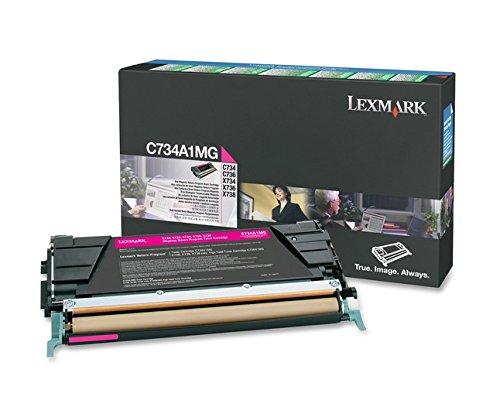 Preisvergleich Produktbild Lexmark C734A1MG C734, X734 Tonerkartusche 6.000 Seiten Rückgabe, magenta