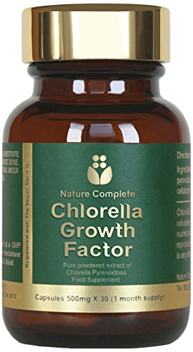 Nature Complete 500mg Chlorella Growth Factor Capsules – Pack of 30