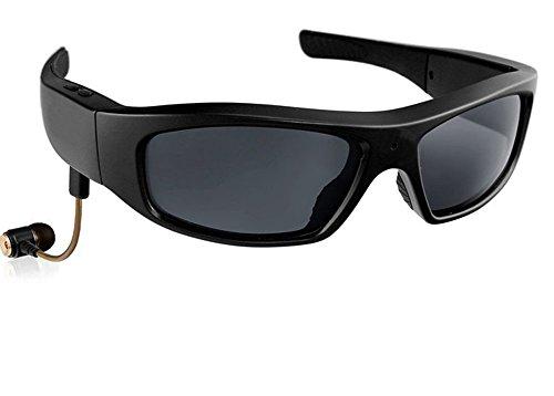JOYCAM Occhiali da sole Bluetooth con Fotocamera Occhiali Polarizzati UV400 Occhiali HD 720P con Registrazione Telecamera con Altoparlante per Sport All'aria Aperta