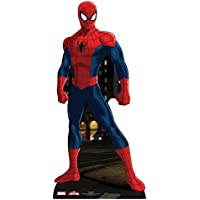Partyrama - Estatua de cartón de Spiderman (tamaño natural: 173 cm)
