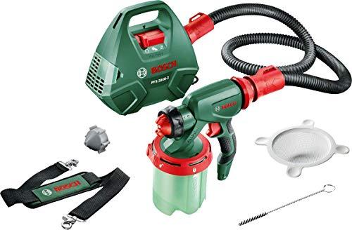 farbpistole wandfarbe Bosch elektrisches Farbsprühsystem PFS 3000-2 (für Lack, Lasur, Wandfarbe, im Karton)