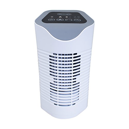 Silentnight Air Purifier with HEPA & Carbon Filters, Air Cleaner for Allergies, Pollen, Pets, Dust, Smokers; Home or…